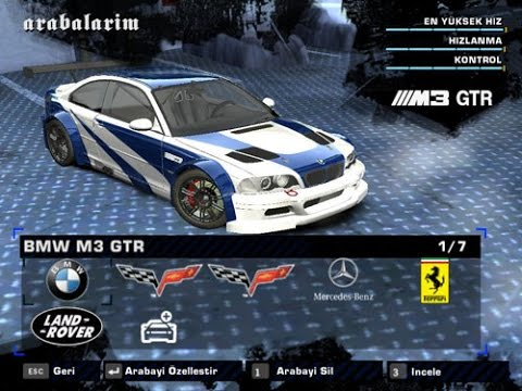 Need For Speed Most Wanted Car Mod Bmw M3 Gtr E46 2012 دیدئو Dideo