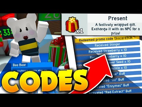 All New Christmas Update Codes In Roblox Bee Swarm Simulator
