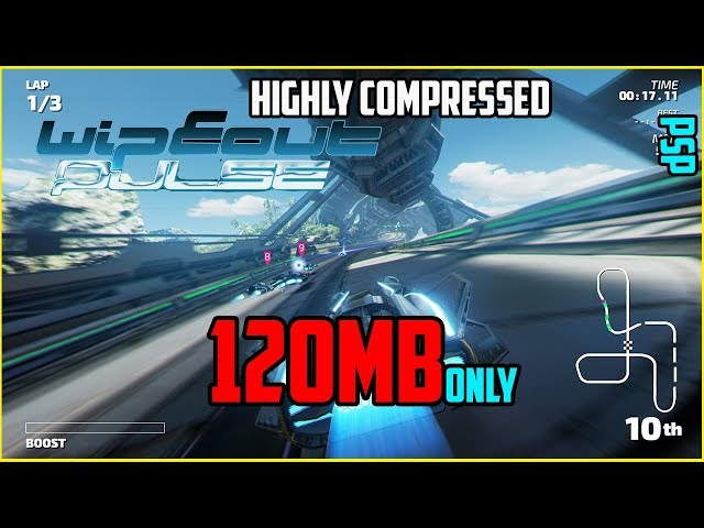 120mb Wipeout Pulse For Psp In Highly Compressed Version دیدئو Dideo