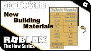 Roblox Electric State Crafting Electric State Tips Tricks And Glitches 2020 Es Update The How Series دیدئو Dideo