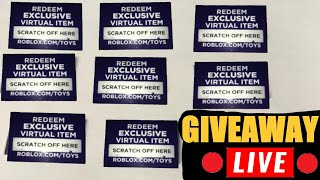 How To Redeem Code For Roblox Toy