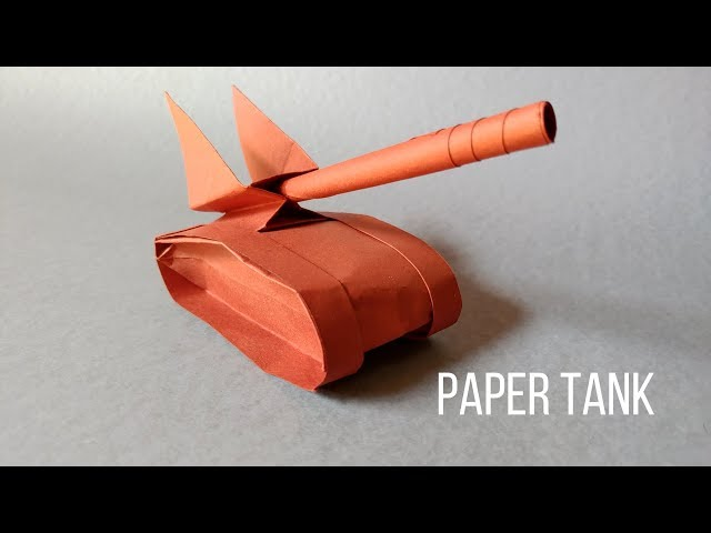 How to make a 2D origami tank: page 12 | 480x640