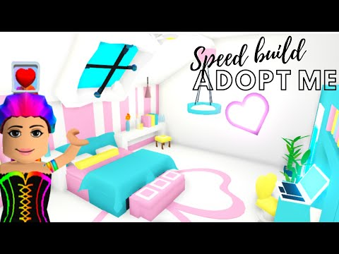 Adopt Me Speed Build Adopt Me Building Hacks Adopt Me Bedroom Adopt Me Futuristic House دیدئو Dideo