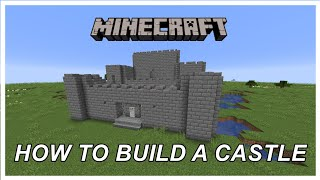 How To Build An Easy Castle Minecraft Tutorial دیدئو Dideo