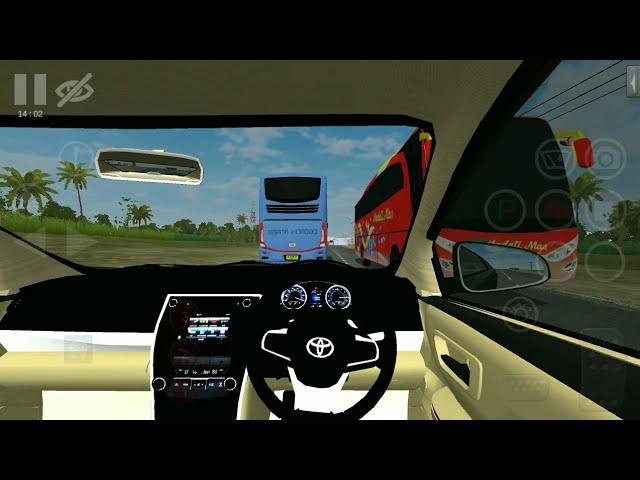 Bussid Cardriving Bus Simulator Indonesia Game In Toyota Vios Car Mod دیدئو Dideo