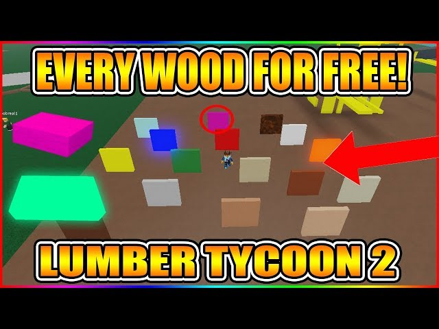 How To Get Every Wood For Free New Paint Tool Script Not