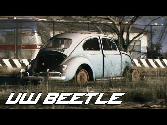 Need For Speed Payback Volkswagen Beetle Derelict Parts Location
