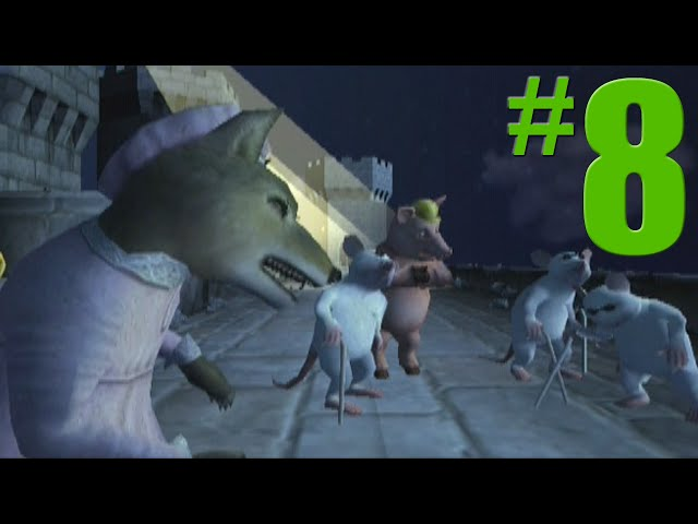 Shrek 2 Game Walkthrough Part 8 Prison Break No Commentary Gameplay Gamecube Xbox Ps2 دیدئو Dideo
