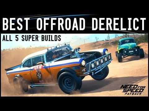 Nfs Payback Best Offroad Derelict Super Build دیدئو Dideo