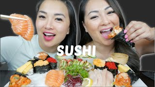 Sushi Sister Mukbang Sas Asmr N E Let S Eat دیدئو Dideo (fire noodles mochi) let me know who you think wins. dideo