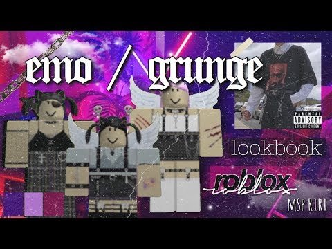 Aesthetic Roblox Outfits Grunge Emo Themed دیدئو Dideo