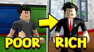 Poor To Rich Roblox Movie Poor To Rich A Sad Roblox Bloxburg Story دیدئو Dideo