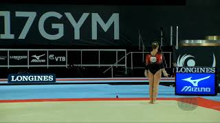 Gymnastics Floor Music Ghostbusters دیدئو Dideo