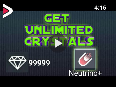 """Unlimited Crystals in """"Neutrino+"""" App 