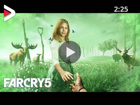 Far Cry 5 Faith Seed Featuring Sheriff Singing Amazing Grace Extended Looped دیدئو Dideo