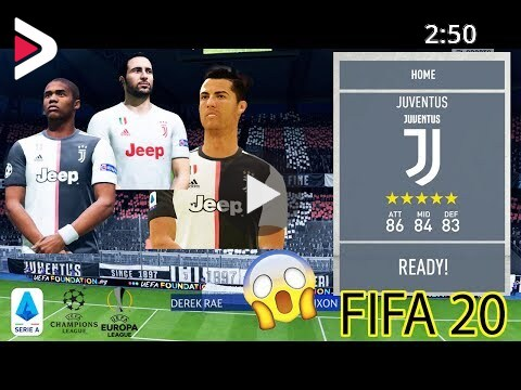 Fifa 20 Patch Full Licensed Patch Juventus Badge Logo Banner And More دیدئو Dideo
