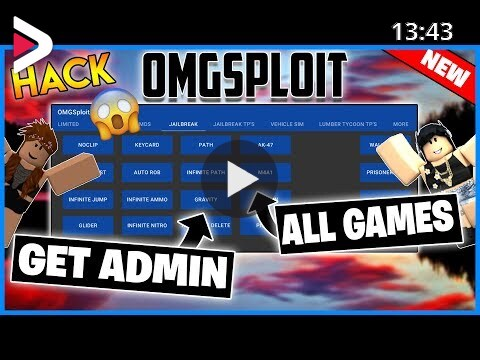 How To Hack On Vehicle Sim Roblox New Roblox Hack Omgsploit Jailbreak Vehicle Sim Lumber Tycoon Admin Commands And More دیدئو Dideo