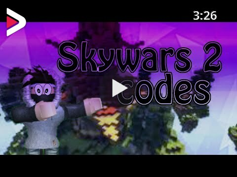 Code For Skywars On Roblox You Roblox Skywars 2 Codes New Game On Roblox دیدئو Dideo