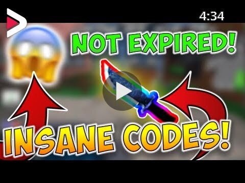 Codes On Murder Mystery 2 Roblox 2019 Murder Mystery 2 Codes 2019 دیدئو Dideo