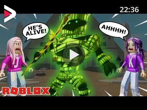 Roblox Time Travel Adventures The Great Mummy Mystery Ancient Egypt Mummy Mystery Roblox Time Travel Adventures دیدئو Dideo