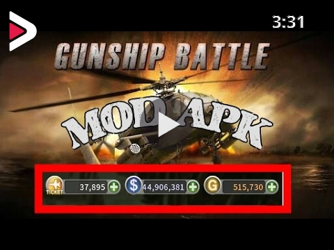 Gunship Battle Helicopter 3D v2.5.70 Mega Mod Apk Download & Gameplay دیدئو  dideo