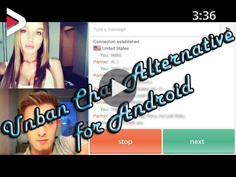 How to unban chat alternative /chatroulette/camsurf