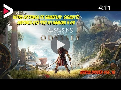 Assassin S Creed Odyssey Max Settings Pc Gameplay Gtx 970 دیدئو Dideo